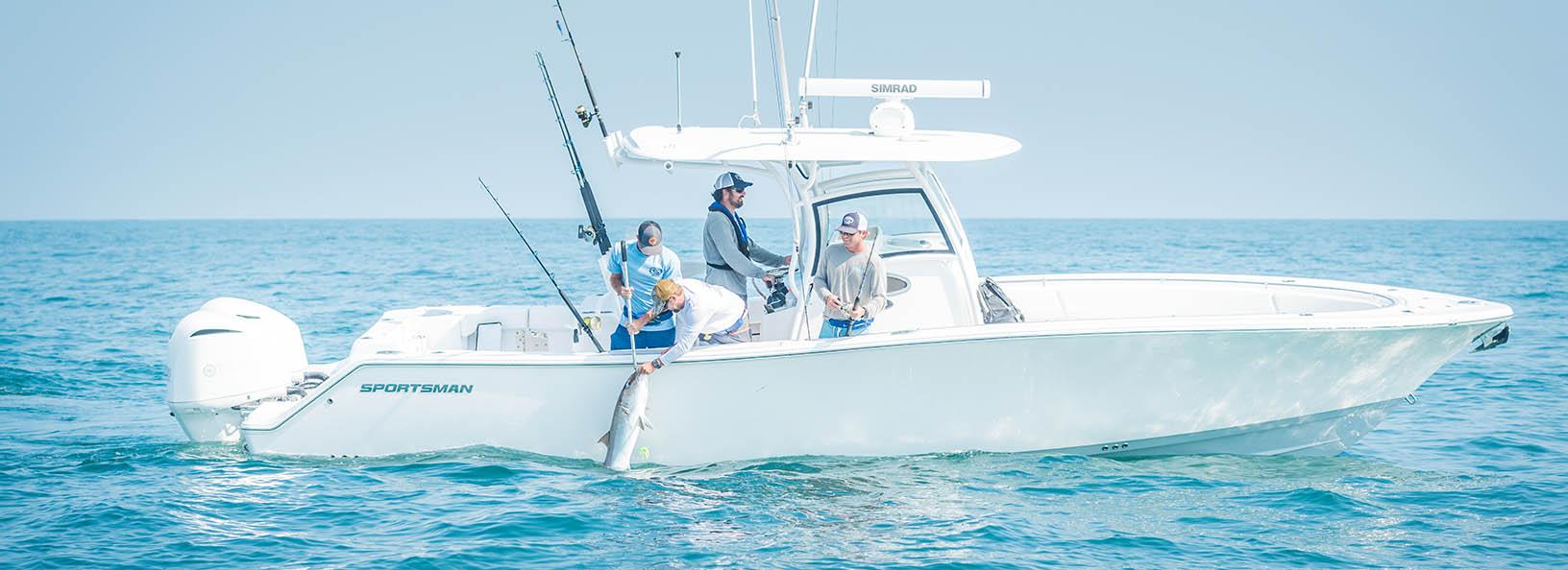 Sportsman Fishing Boats | Riverside Marine | Essex Maryland