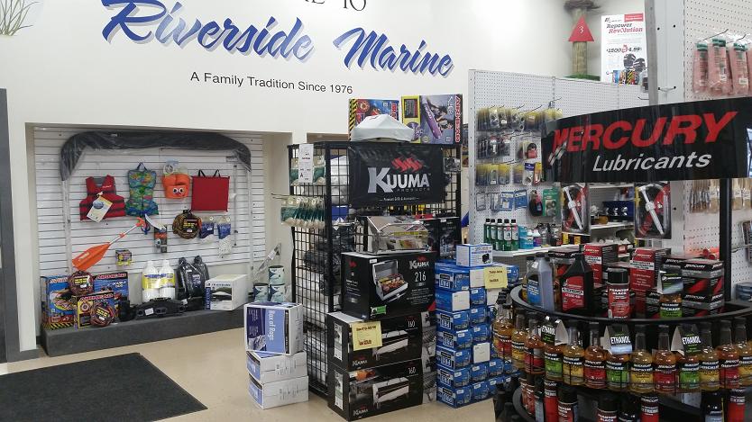 Parts Department | Riverside Marine | Essex Maryland